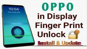 OPPO Finger Print Lock